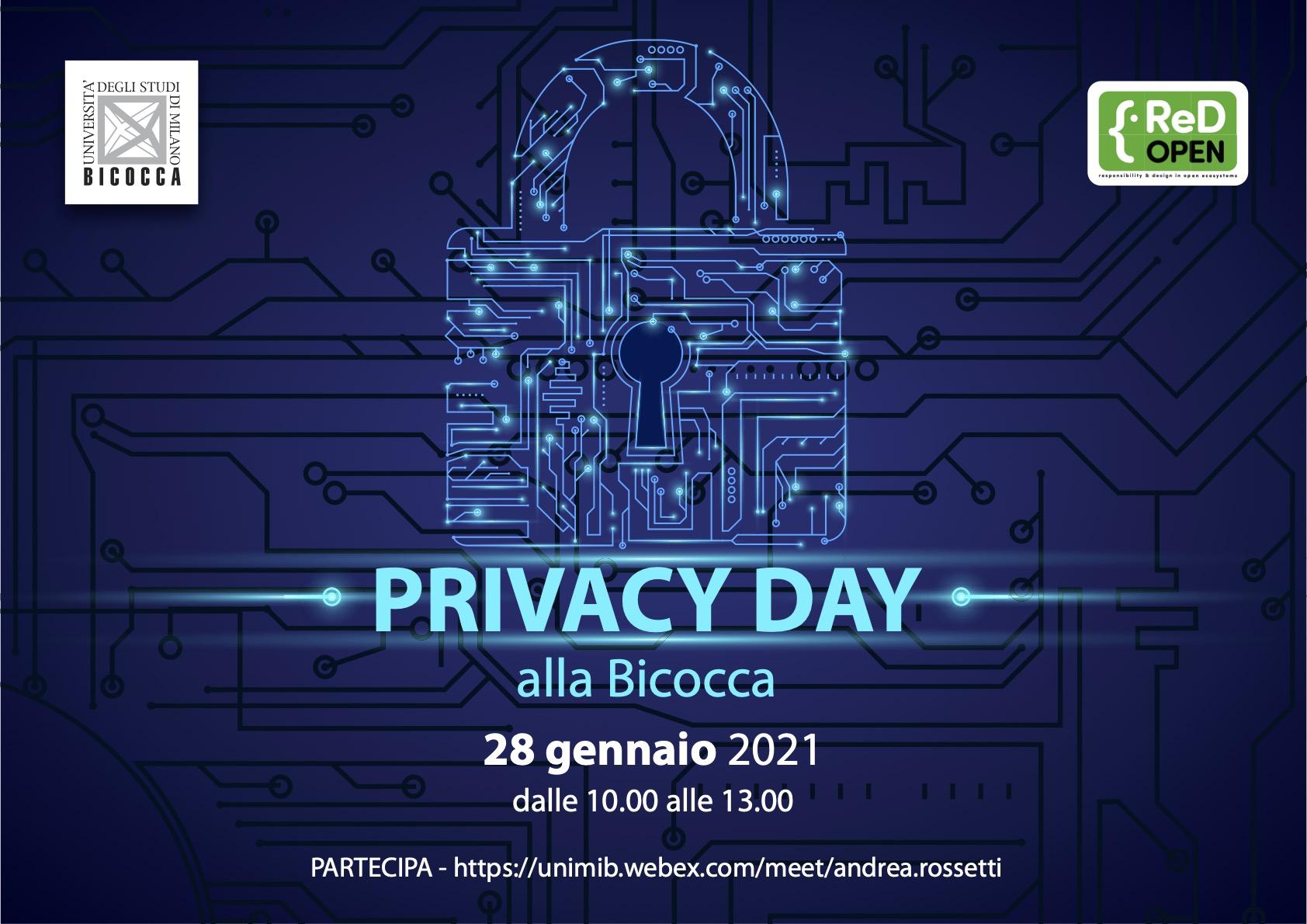 Locandina Privacy Day