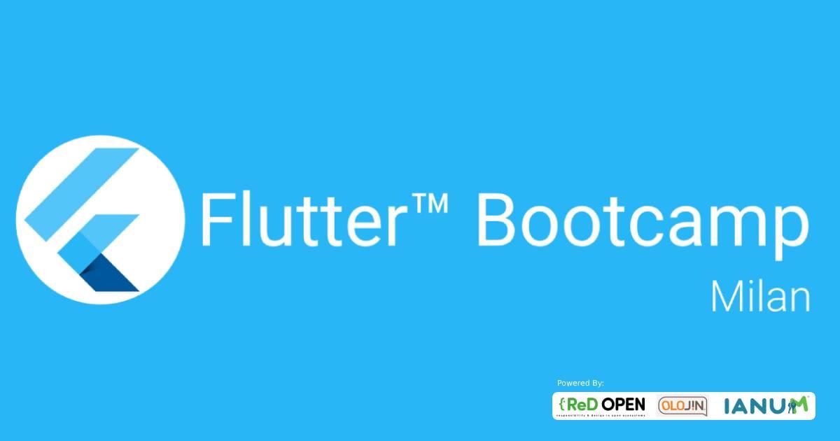 Flutter Bootcamp a Milano